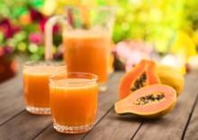 8 полезных свойств сока папайи и противопоказания экзотического напитка