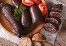 Кровяная колбаса — польза и вред, состав и калорийность