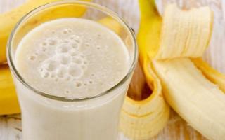 Польза бананового молока
