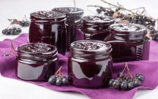 Польза варенья из черноплодной рябины и потенциальный вред