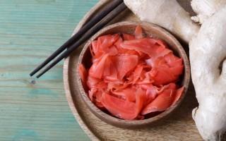 Маринованный имбирь — польза и вред, сколько есть и как готовить
