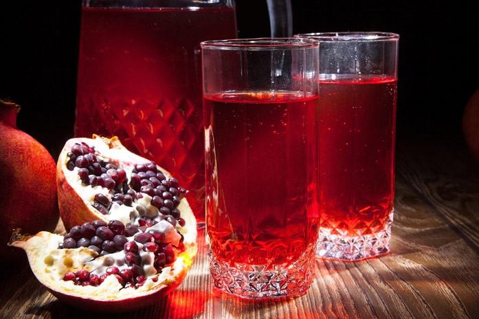 гранатовый сок для ферментации уксуса