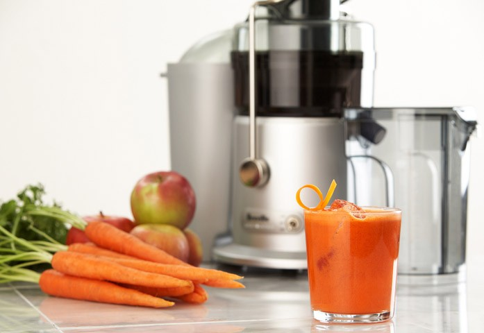 морковно-яблочный фреш
