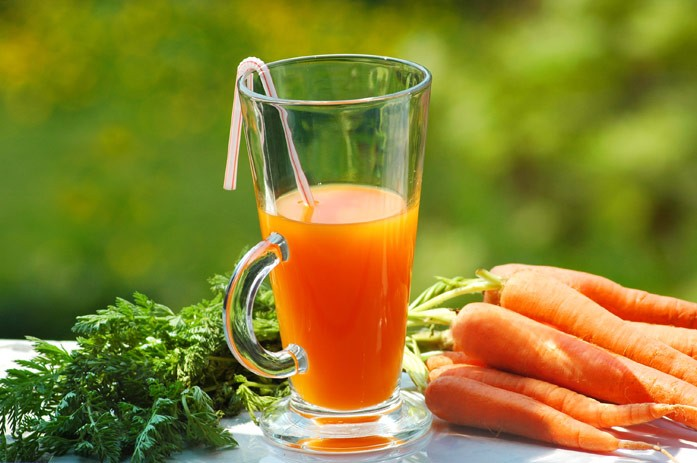 сок из свежей моркови
