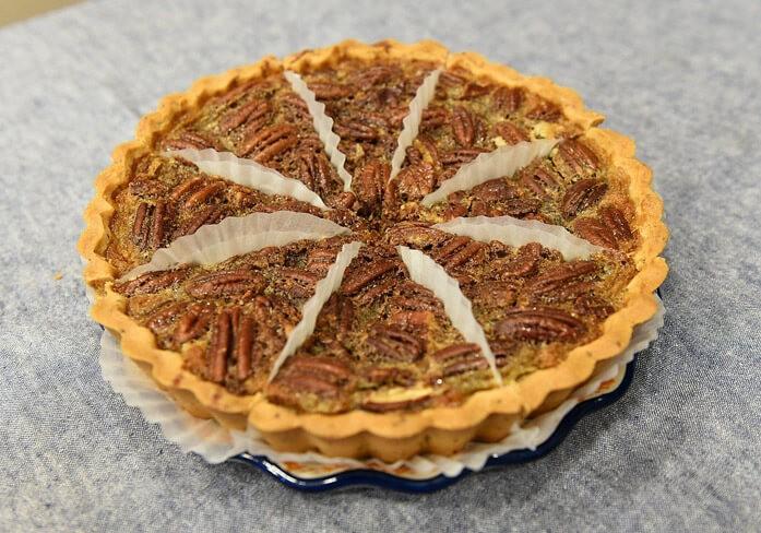 американский пирог с пеканами