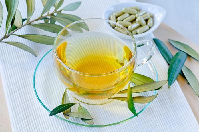 оливковый чай