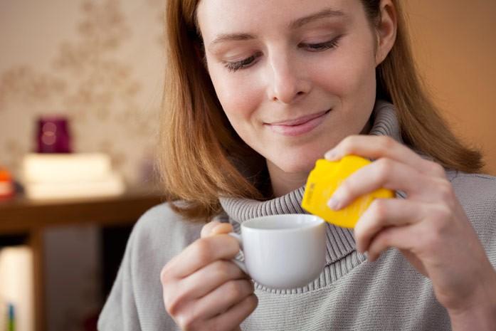 чай с подслатителем