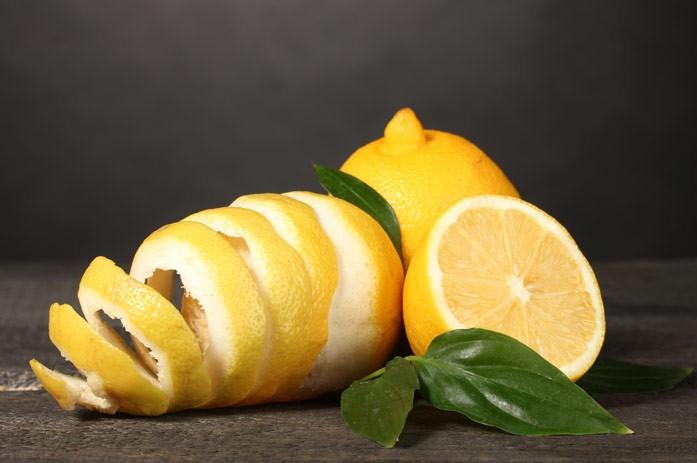 лимоны с кожурой