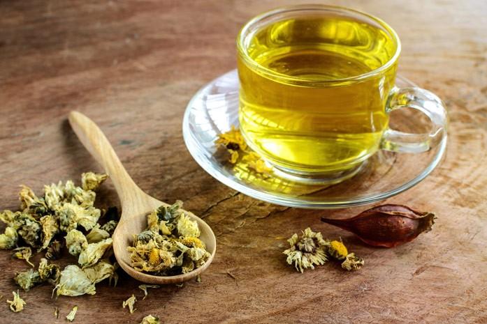 чай из цветков хризантемы