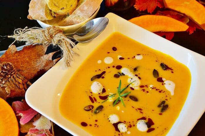 оригинальный тыквенный суп