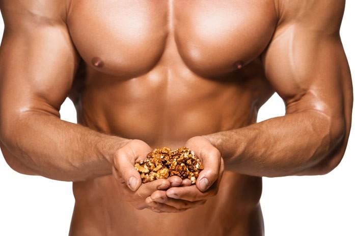 горсть орехов для мужчин