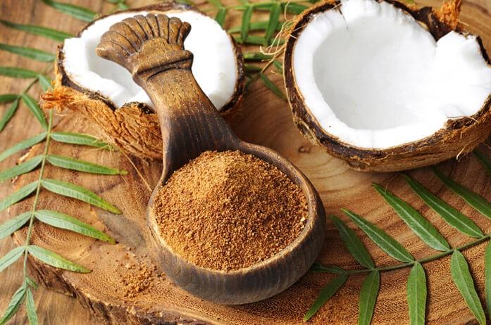 органический кокосовый сахар без химии