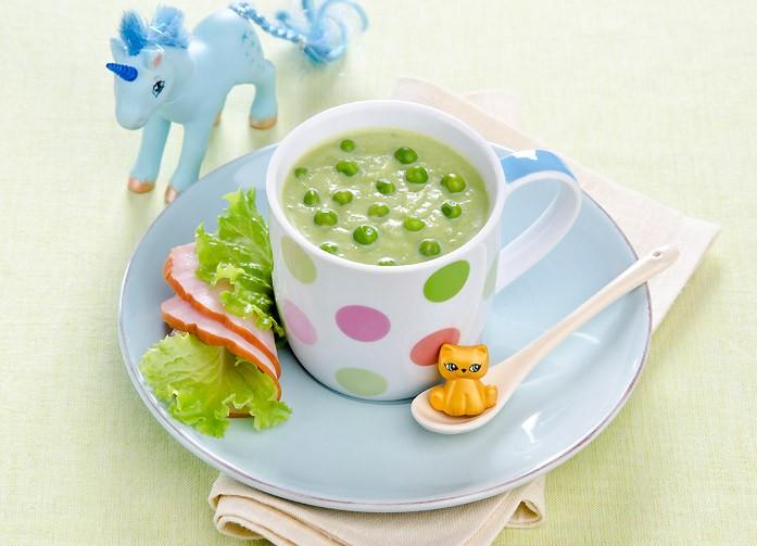 Детский гороховый суп-пюре