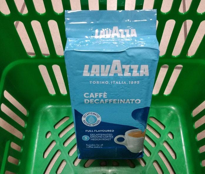 decaf Lavazza