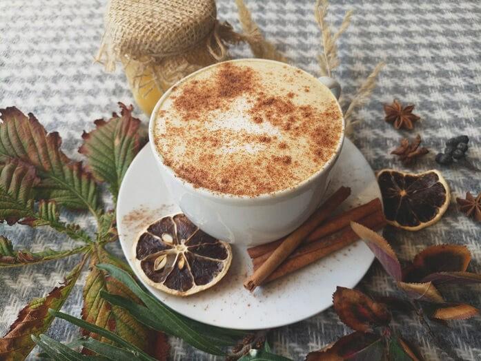 кофе с цедрой