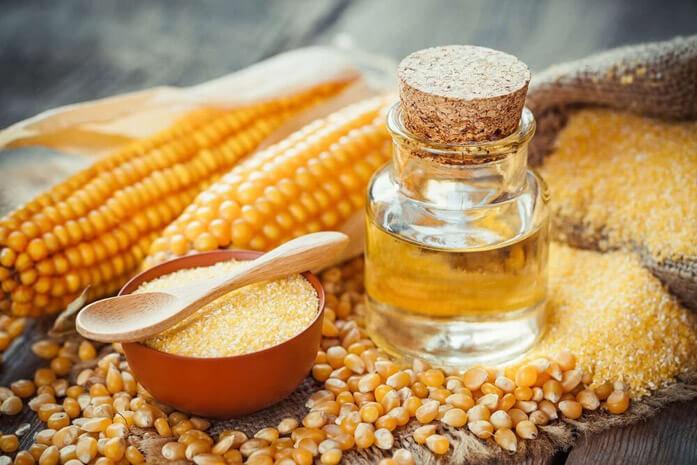 Кукурузное масло и крупа