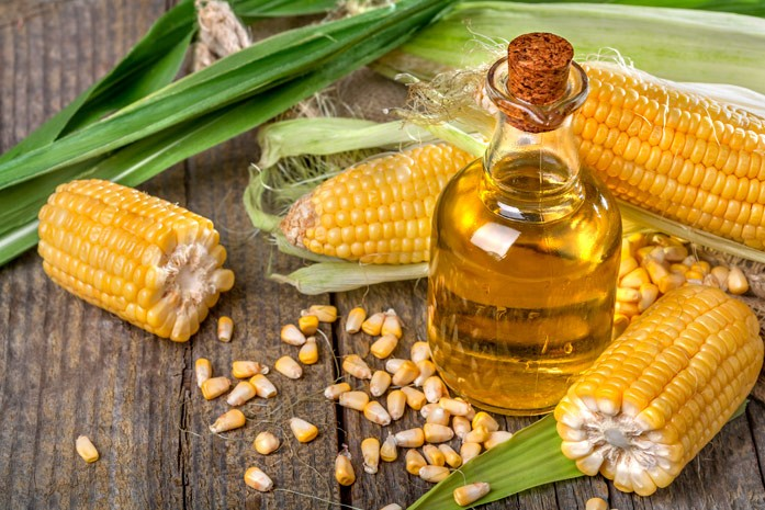 кукурузное масло в бутылочке