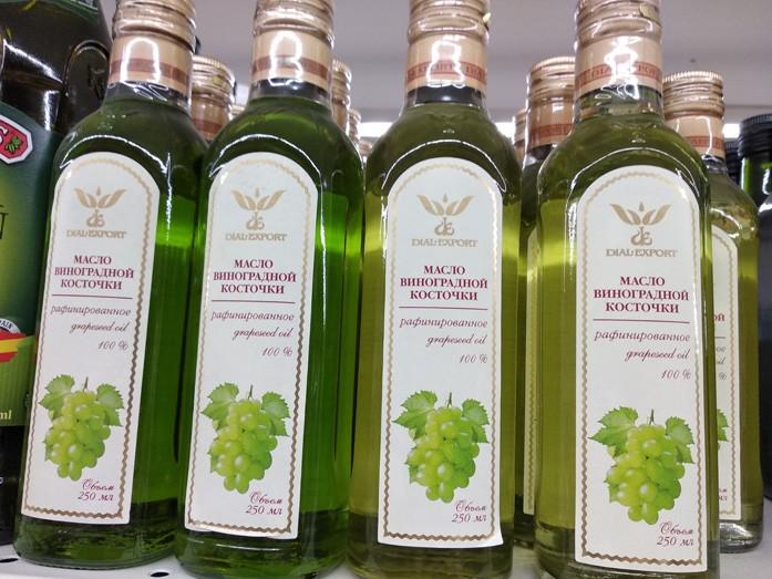Популярный производитель виноградного масла