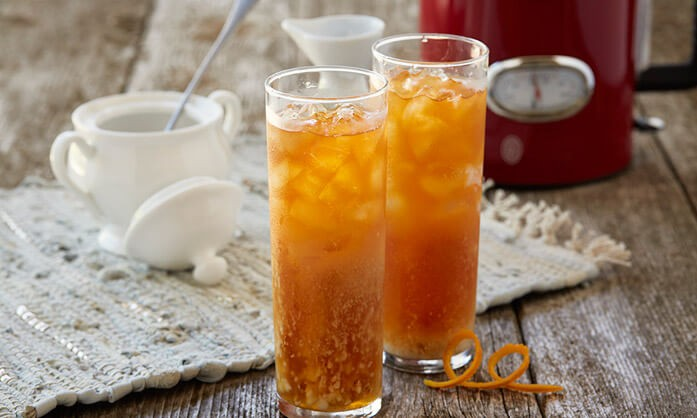 охлаждённый морковный чай