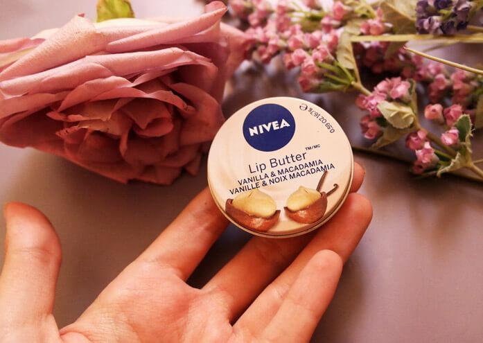 масло Nivea для губ