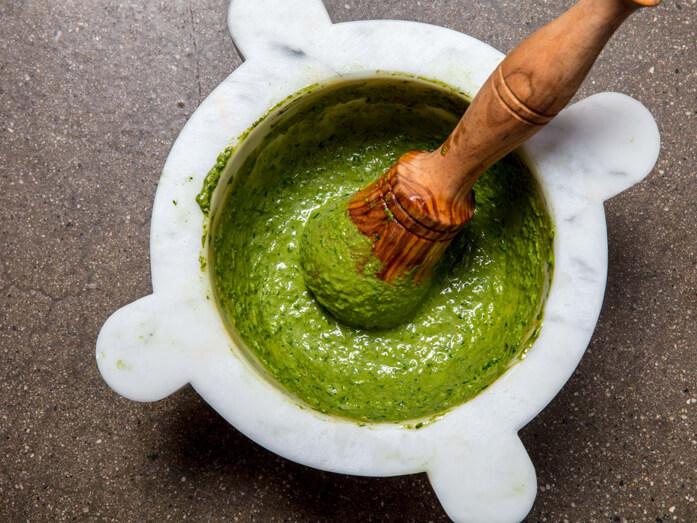 итальянский зеленый соус