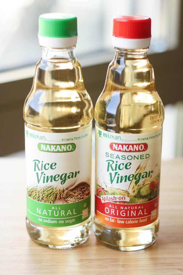 рисовый уксус марки nacano